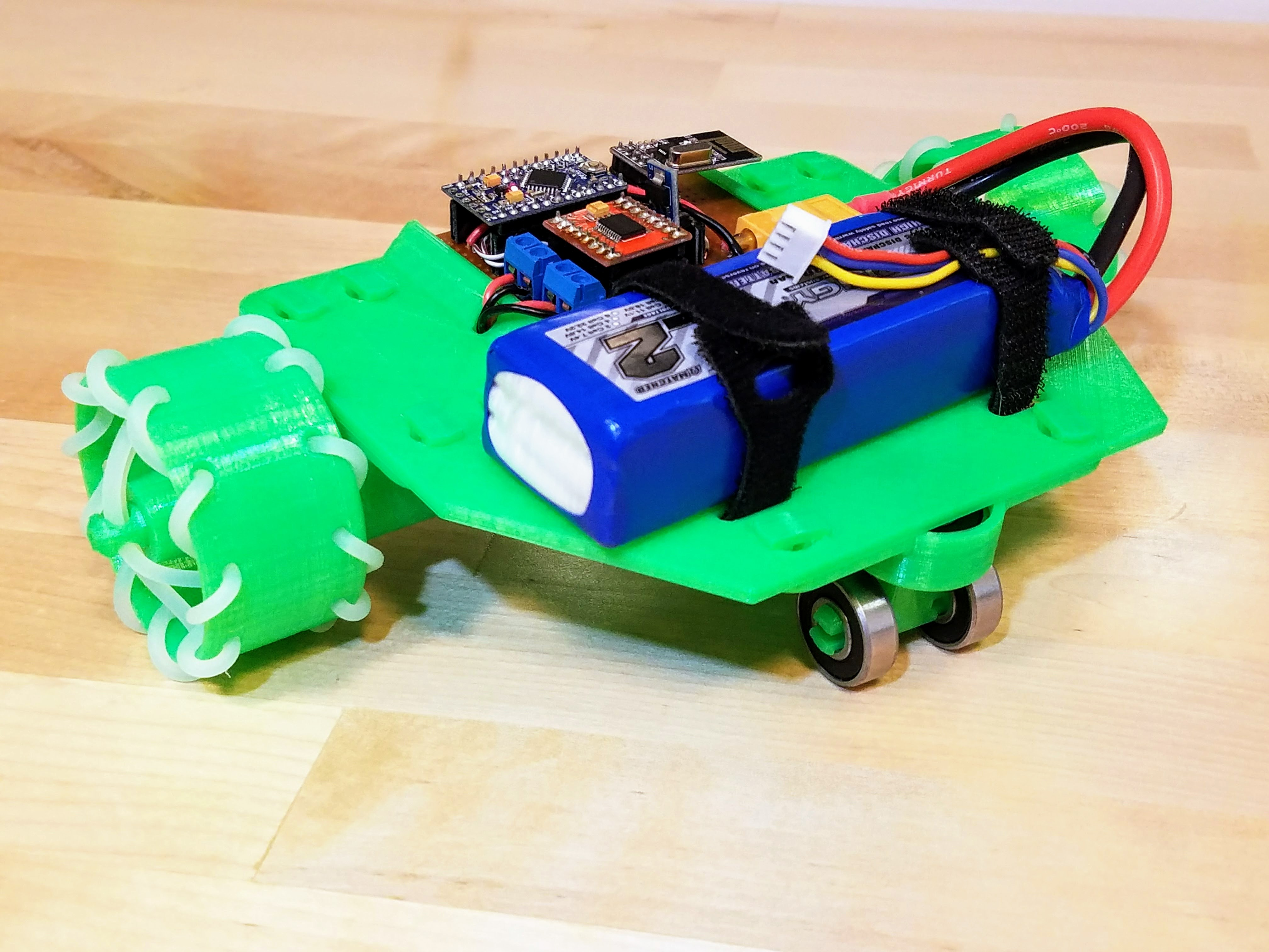 Picture of  RC Car (3d Printed Parts and Assembly)