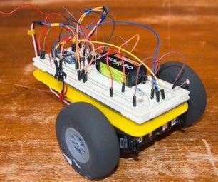 Ben - a Light Following Breadboard Arduino Robot