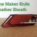 The Maker Knife Leather Sheath