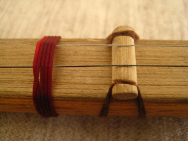 Picture of String Nut and Fret...