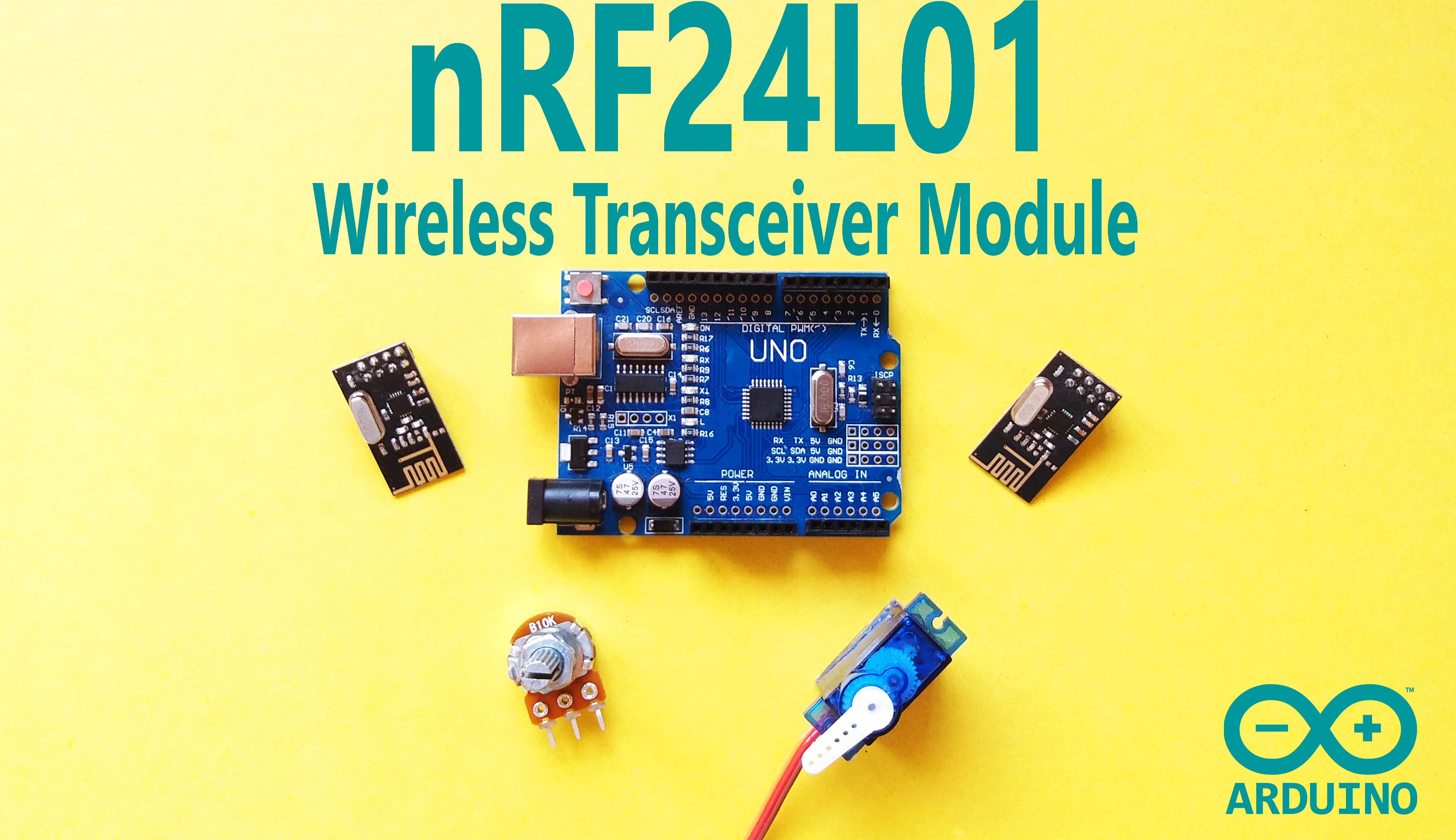 Picture of Arduino - NRF24L01 Wireless Transceiver Module