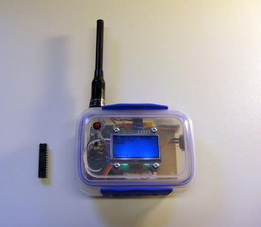 Picture of LoRa Receiver & Links