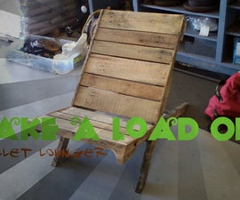 Take A Load Off: Pallet Lounger