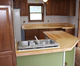 Say Goodbye to That Formica CounterTop!