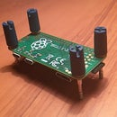 Hack a VGA (D-sub) monitor cable for screws to fit a Raspberry Pi