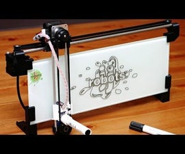 IBoardbot. The internet controlled whiteboard robot
