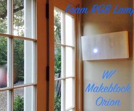 LED Foam Wall Lamp