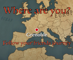 Where Are You? Follow Your Friends With a Design Map