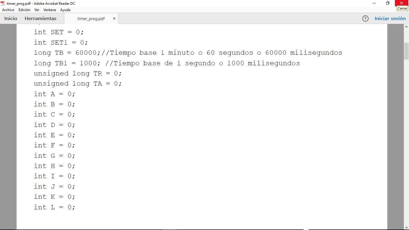 Picture of Código Del Timer Programable