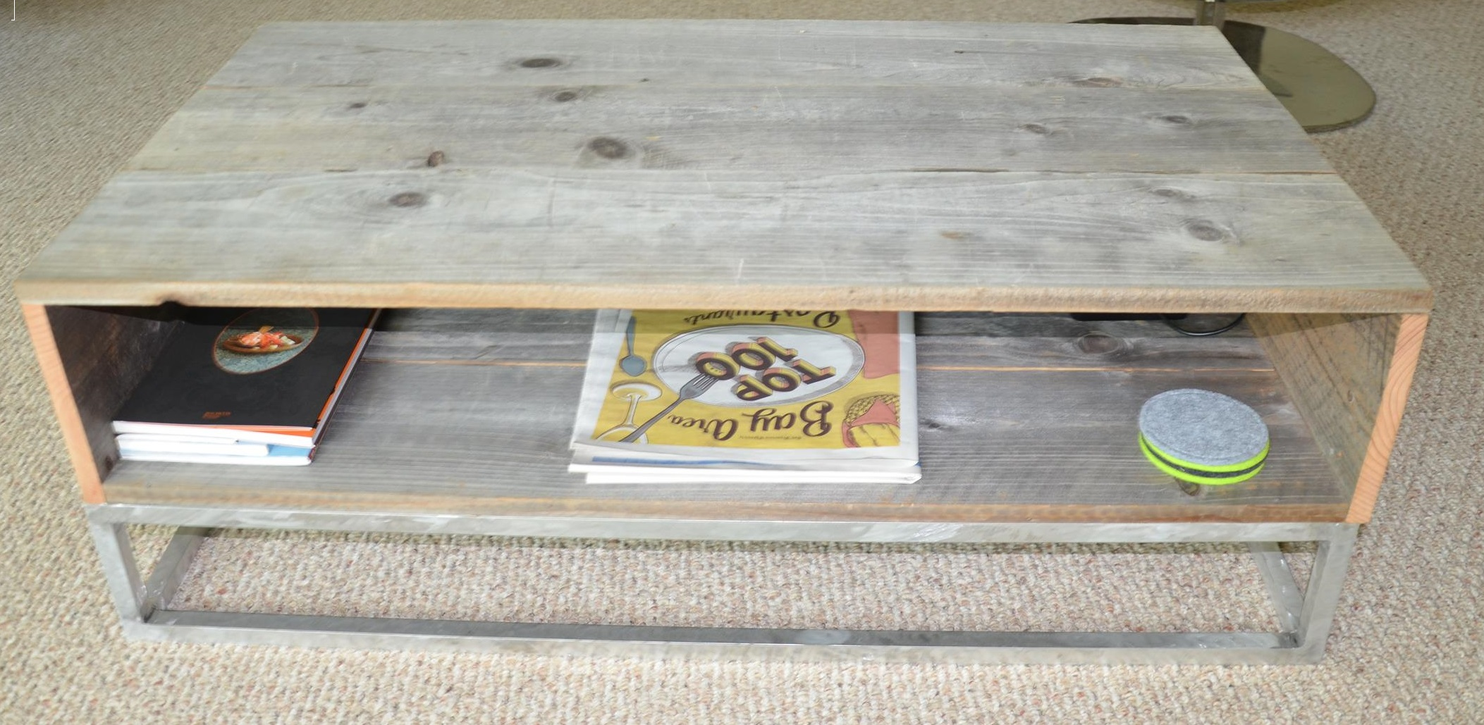 Picture of Coffee Table  With Reclaimed Wood