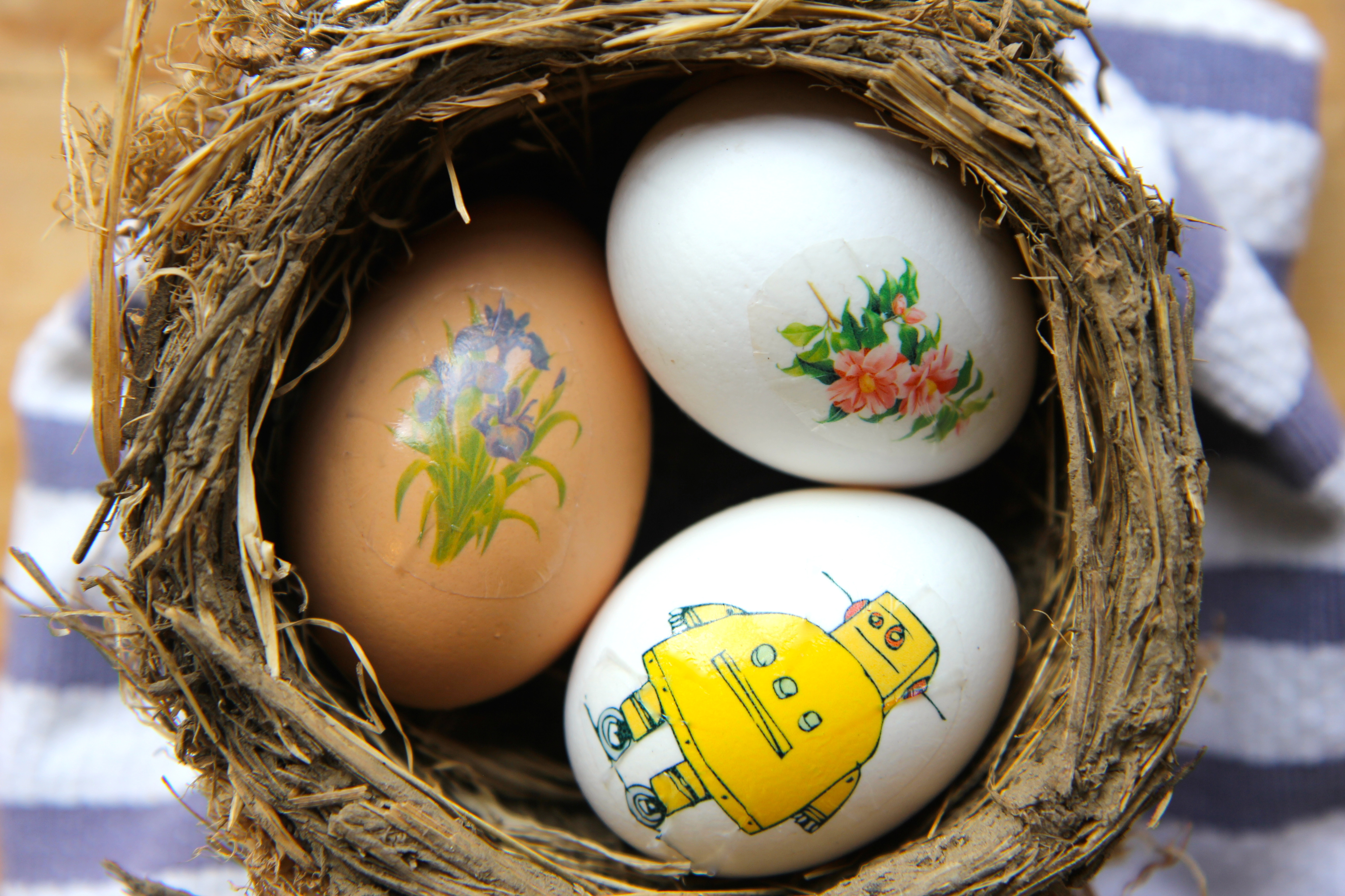Picture of Mess Free Easter Eggs