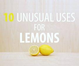 10 Unusual Uses for Lemons