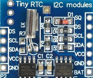 NODEMCU Lua ESP8266 With Real Time Clock (RTC) & EEPROM