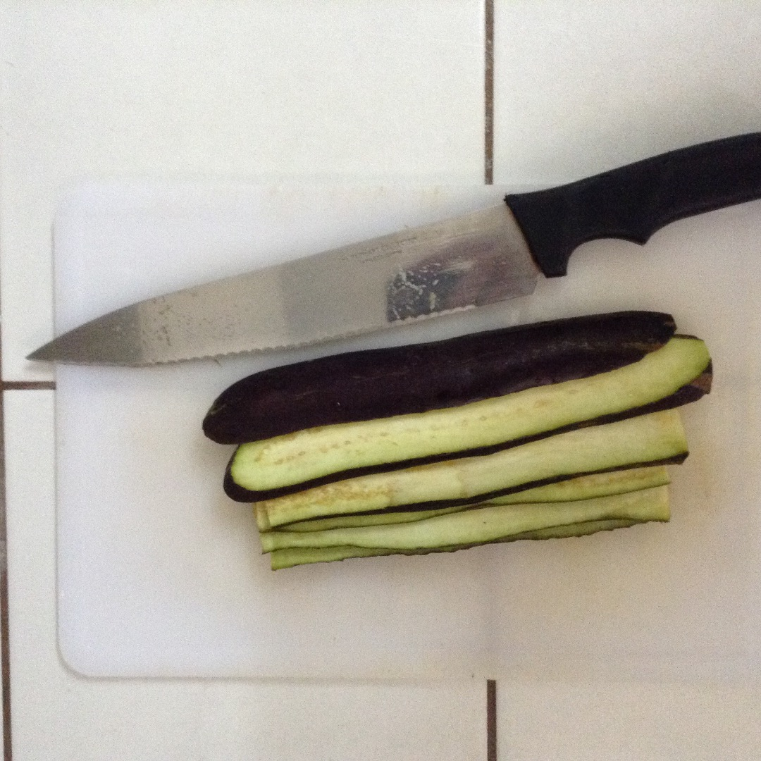 Picture of Grilled Eggplant Tongues