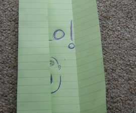 Turn Your Letter into it`s own Envelope.