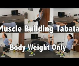 Full Body Tabata Body Weight Only Resistance Training