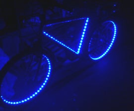 RGB-LED-bike for 50$
