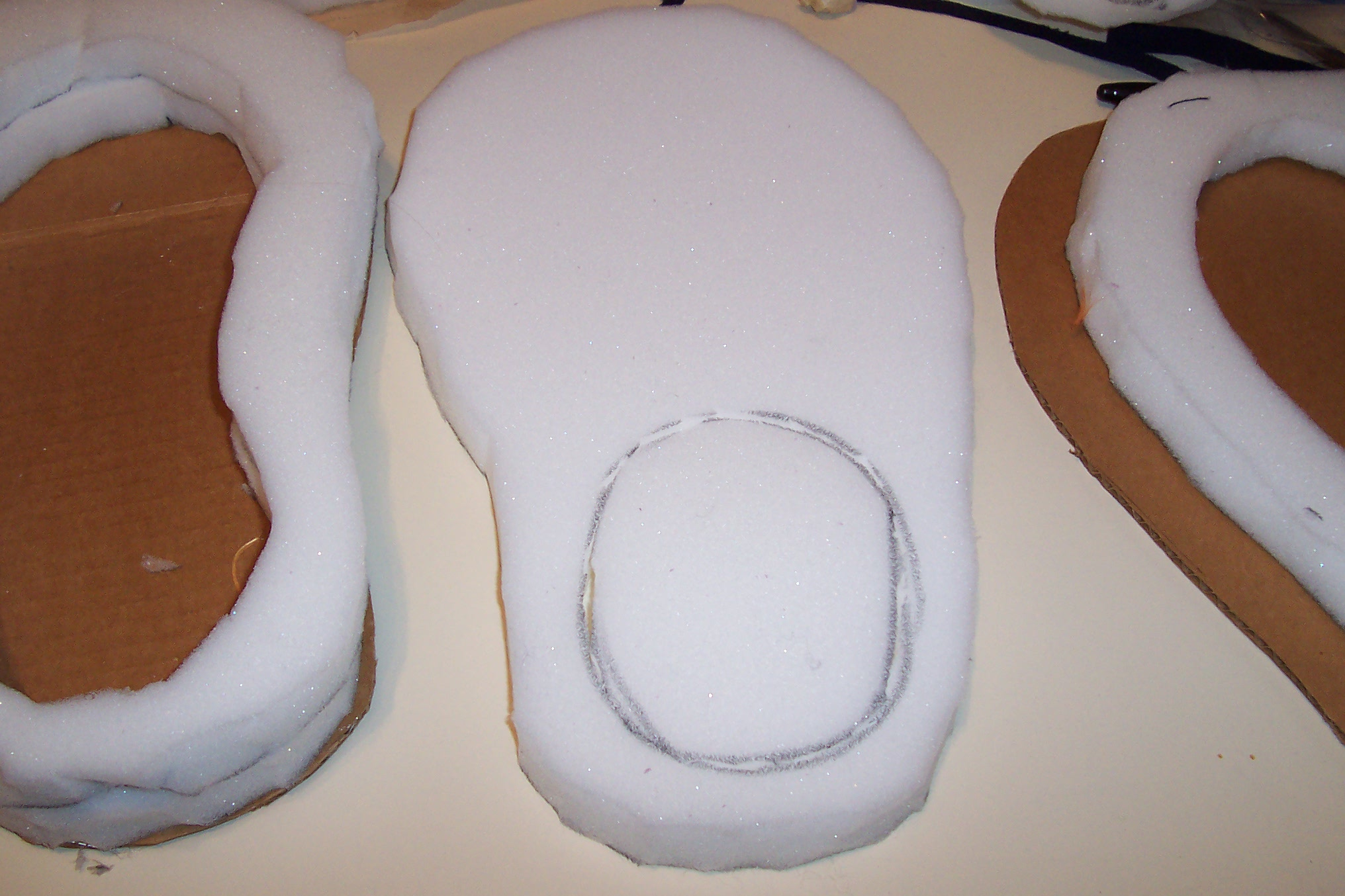 Picture of Assembling the Foot Continued....