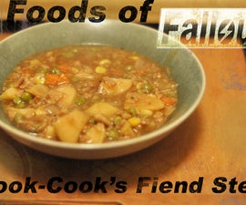 Foods of Fallout: Cook-Cook's Fiend Stew