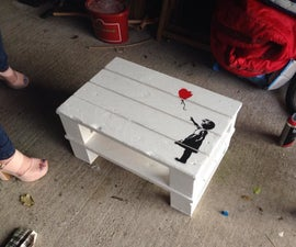 Little Banksy Table