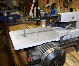 Scroll Saw Conversion to Filer