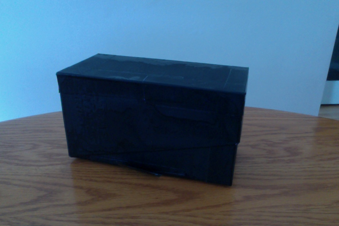 Picture of MAKE YOUR OWN PINHOLE (BLACK AND WHITE) CAMERA