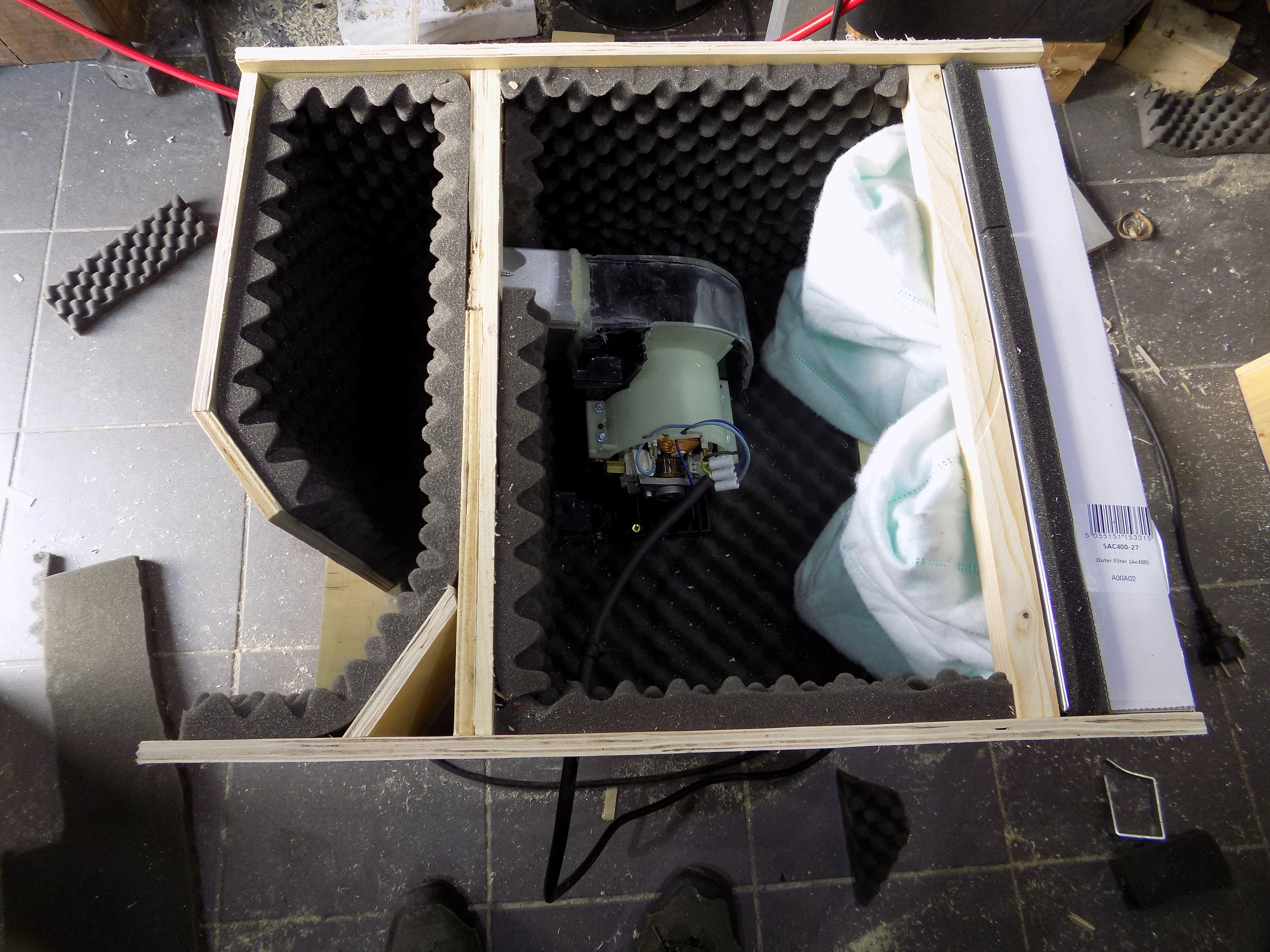 Picture of So Here's the Motor and Some More Insulation