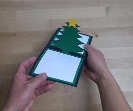 Christmas Tree Pop Up Greeting Card