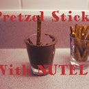 Easy Snack: Pretzels With Nutella