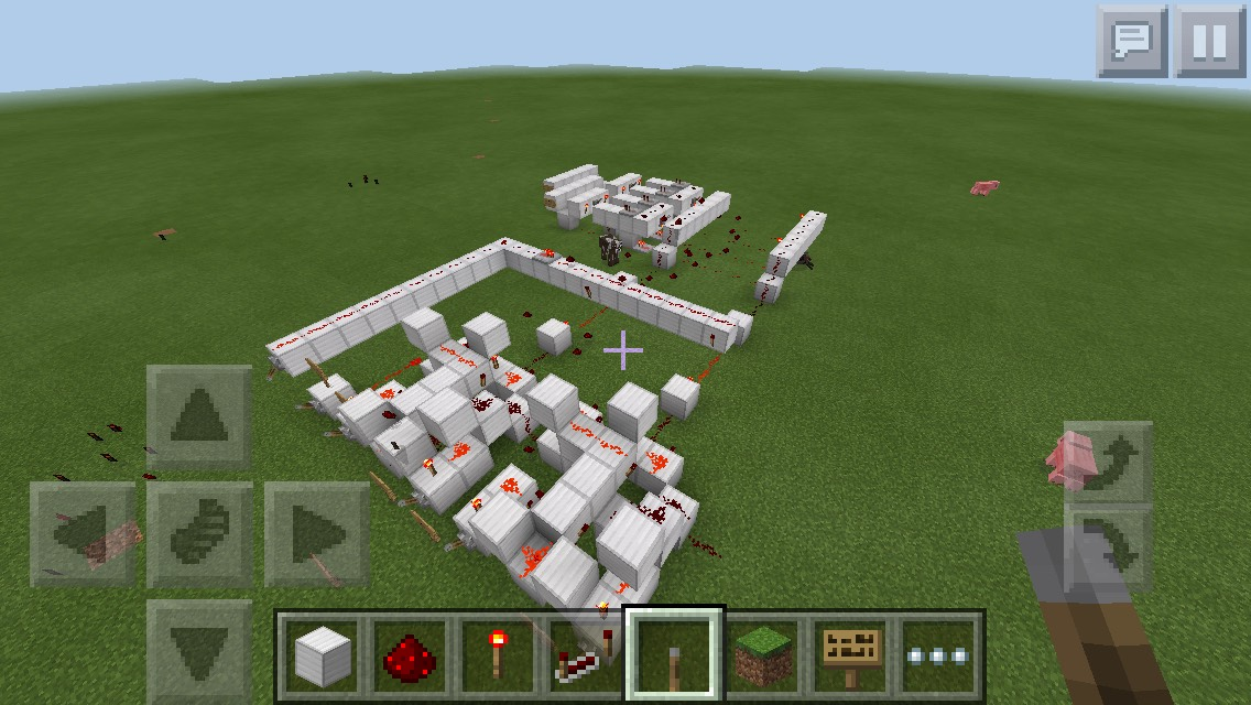 Picture of Logic Gates in Minecraft