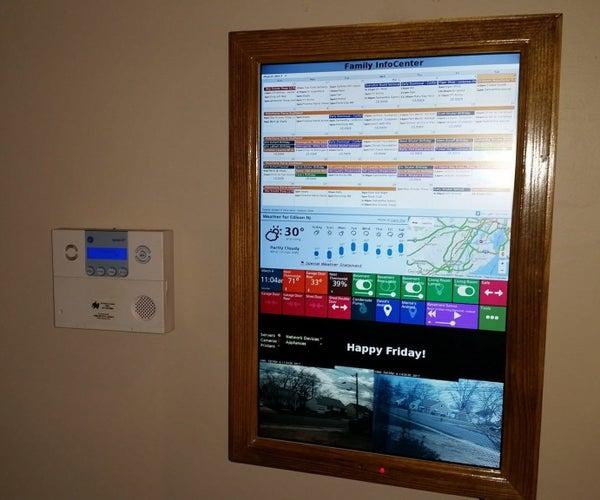 Digital Wall Calendar and Home Information Center