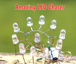 How to Make LED Chaser Using 4017 IC and RGB LED
