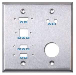 Bottom Panel I/O and Power Faceplates