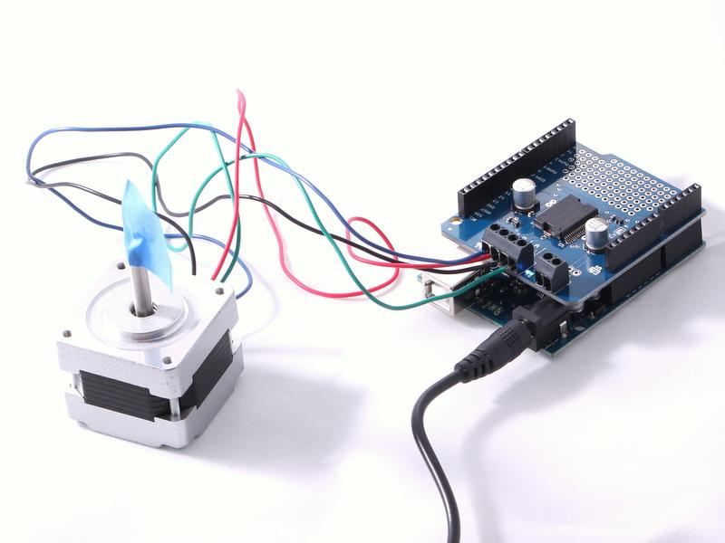 Picture of BONUS: Stepper Motor Example (cont)