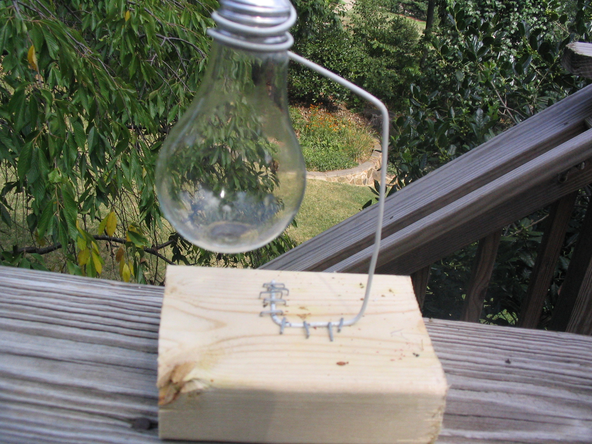 Picture of How to Hollow Out a Lightbulb and Make a Stand for It