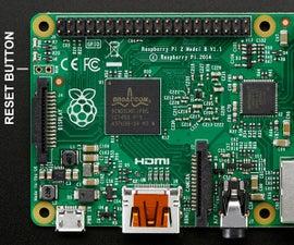 Raspberry Pi 2 Reset Button