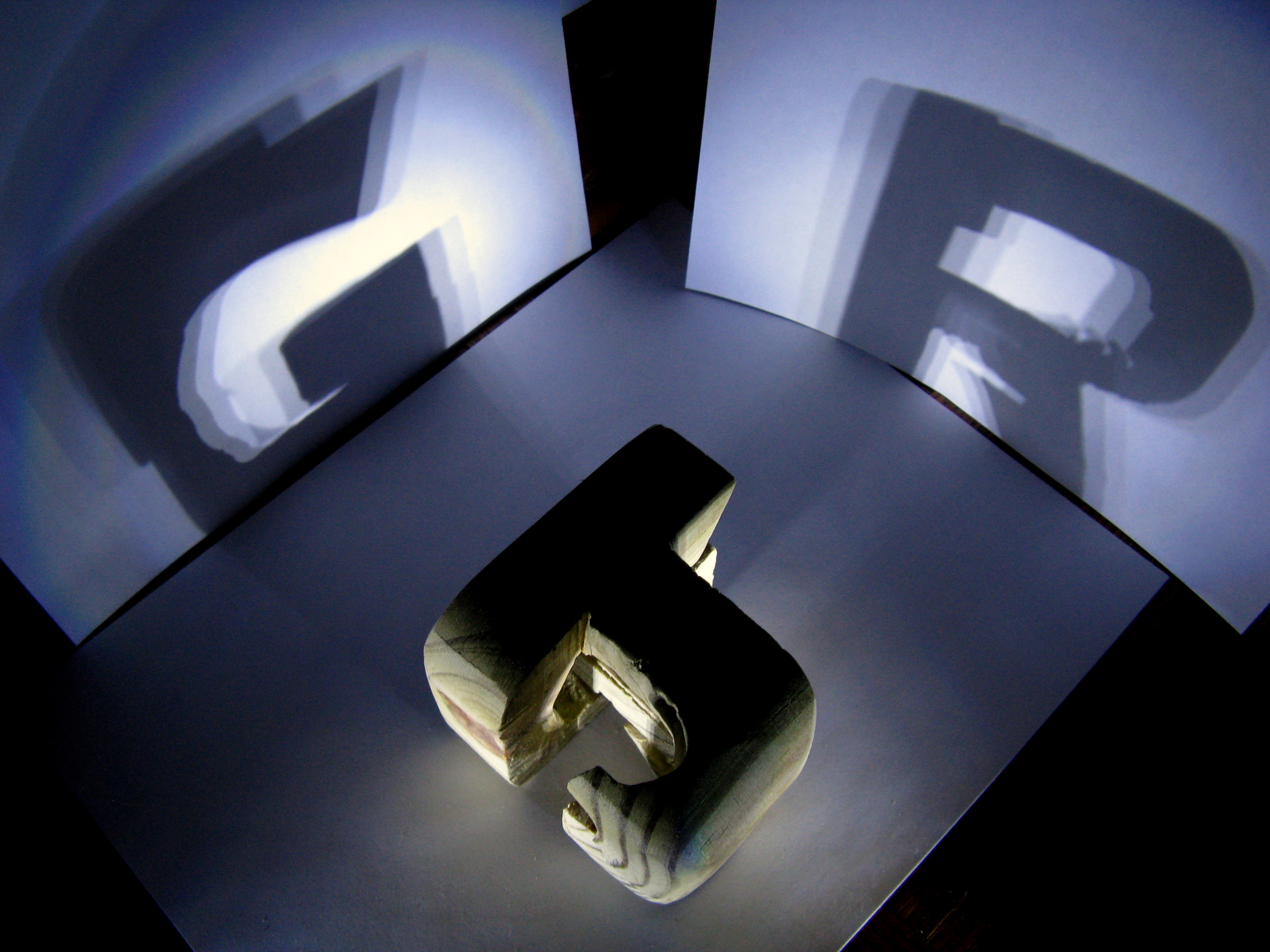 Picture of Initials Shadow Block