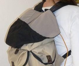 Backpack + Hoodie = Brilliant!