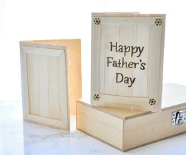 Popsicle Stick Greeting Card