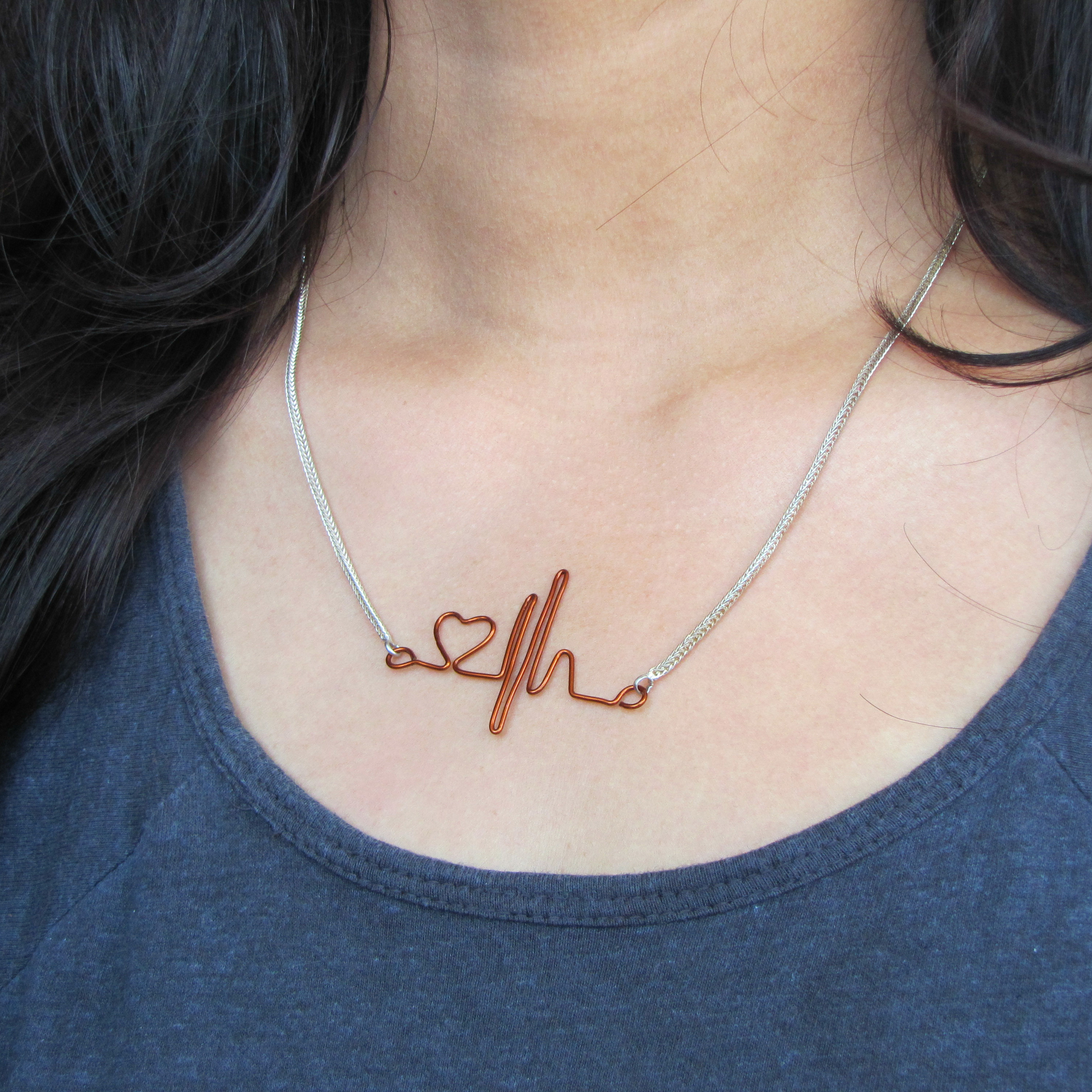 Picture of Heartbeat Necklace for Your Valentine