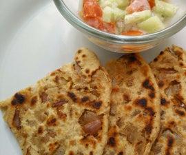 Tasty Crispy Punjabi Onion Paratha/ Bread Recipe
