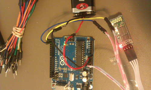 Picture of Bluetooth Circuit