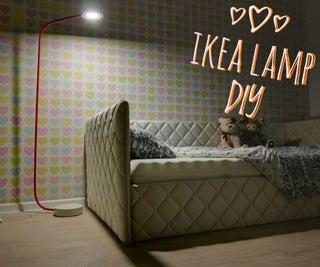 How to Make Ikea Floor Lamp DIY