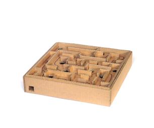 Cardboard Marble Labyrinth