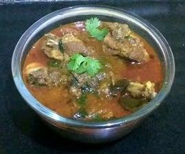 Chettinad Mutton Curry | Mutton Gravy | Indian Mutton Curry