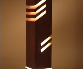Contemporary Decorative Table Light