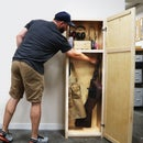 DIY Storage | Tall Shop Cabinet