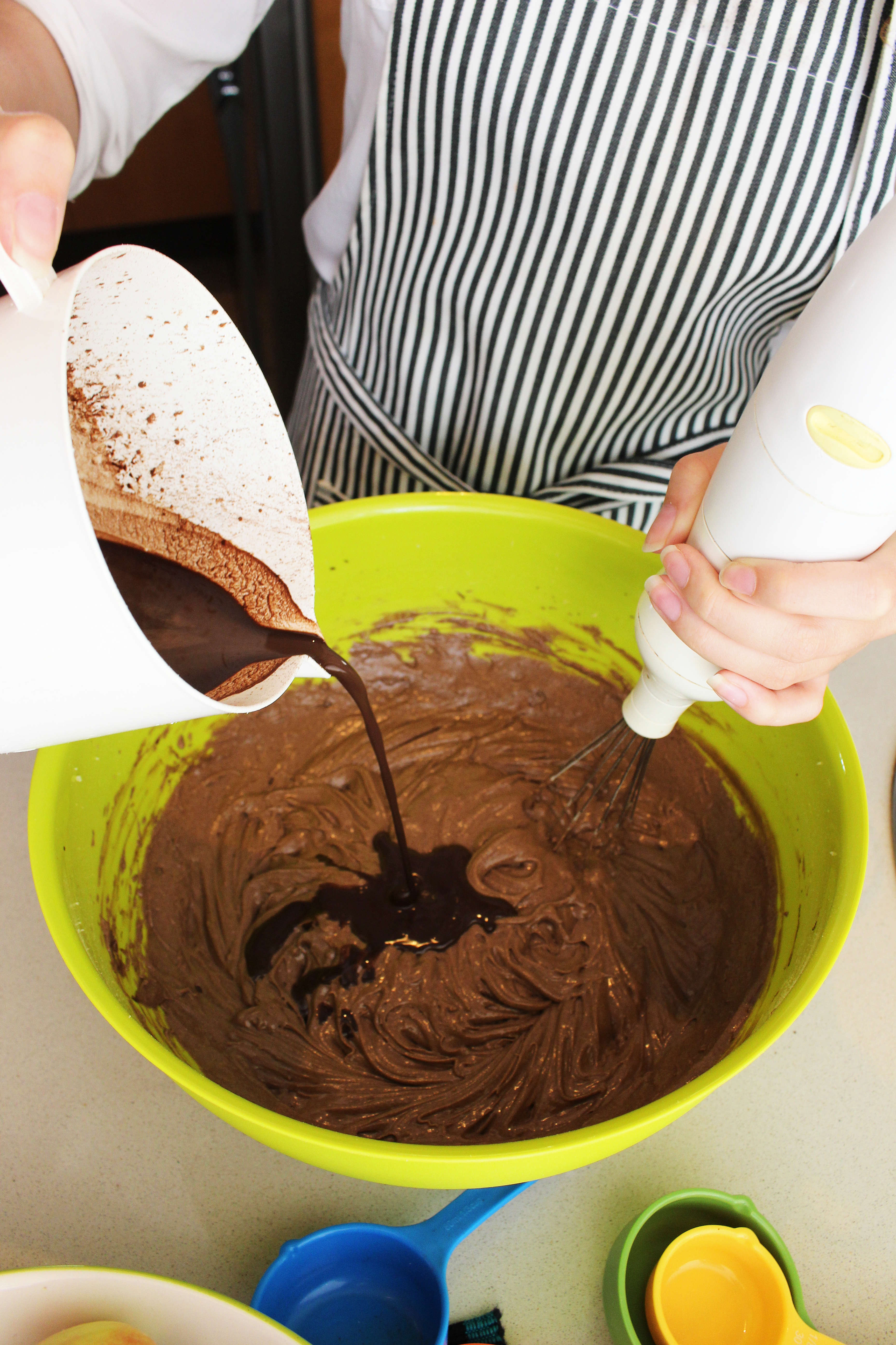 Picture of Preparing the Batter