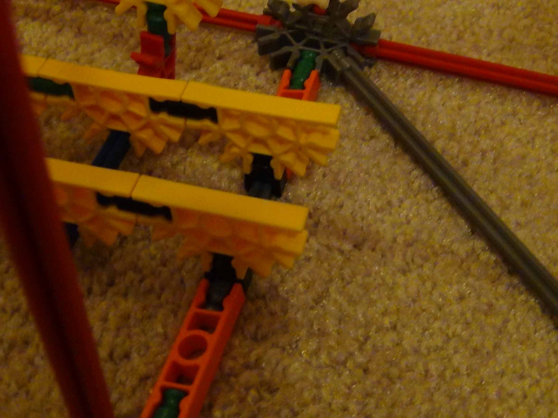 Picture of Attaching the Ark, Motor, and Arms