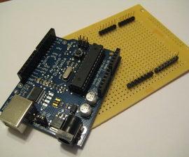 Embarassingly Easy Arduino ProtoShield